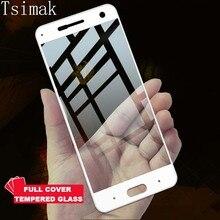 Tsimak Full Cover Tempered Glass For ZTE Blade V8 Screen Protector