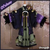 Индивидуальный заказ заклинатель моба SR Чарм Фея Лиса японский костюм для косплея мужское кимоно платье костюмы на Хэллоуин кимоно + хвост