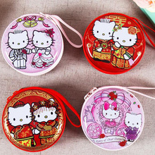 1pc Hello Kitty candy box children kids birthday party supply wedding decoration for biscuit small gift/candy bags 75Z