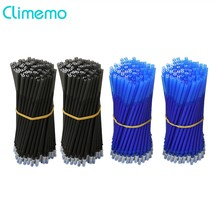 Climemo 20Pcs/lot Gel Pen Rod Office&School Stationery 0.38mm/0.5mm Erasable Pen Refill Black/Blue Magic Ink Writing Tool(China)