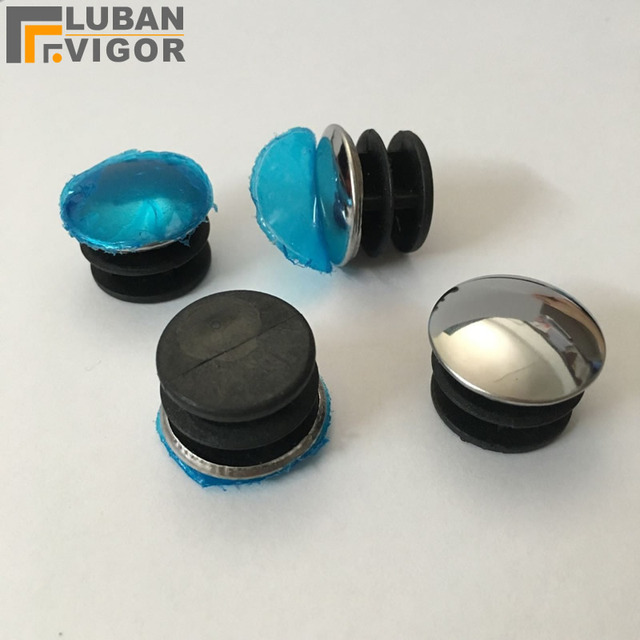 Inside plug cover Plugging,Cover Decorative round hole plug for outer diameter 25mm Stainless steel tube pipe