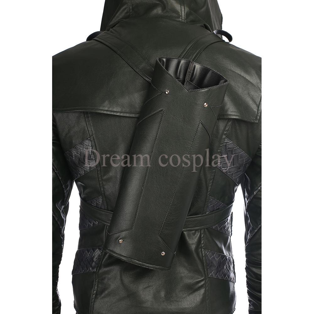 Lance Halloween Arrow Cosplay Quentin Temporada De 5 Green Ropa wIxqfvw8