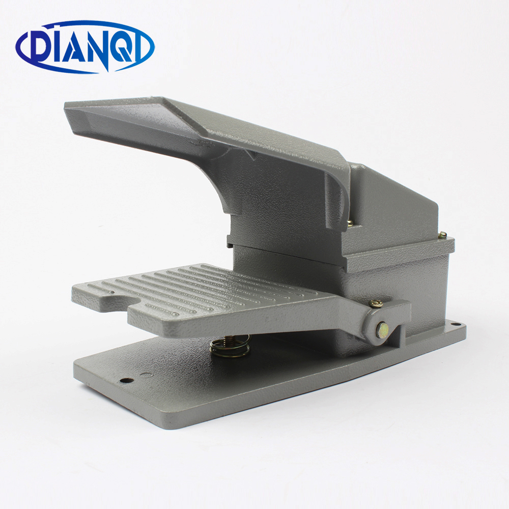 LT4 Foot Switch Pedal Switch 5A AC 380V 15A AC 250V Material Aluminum LT4 xf 302b treadle foot pedal switch 15a 250vac 1c contact form waterproof
