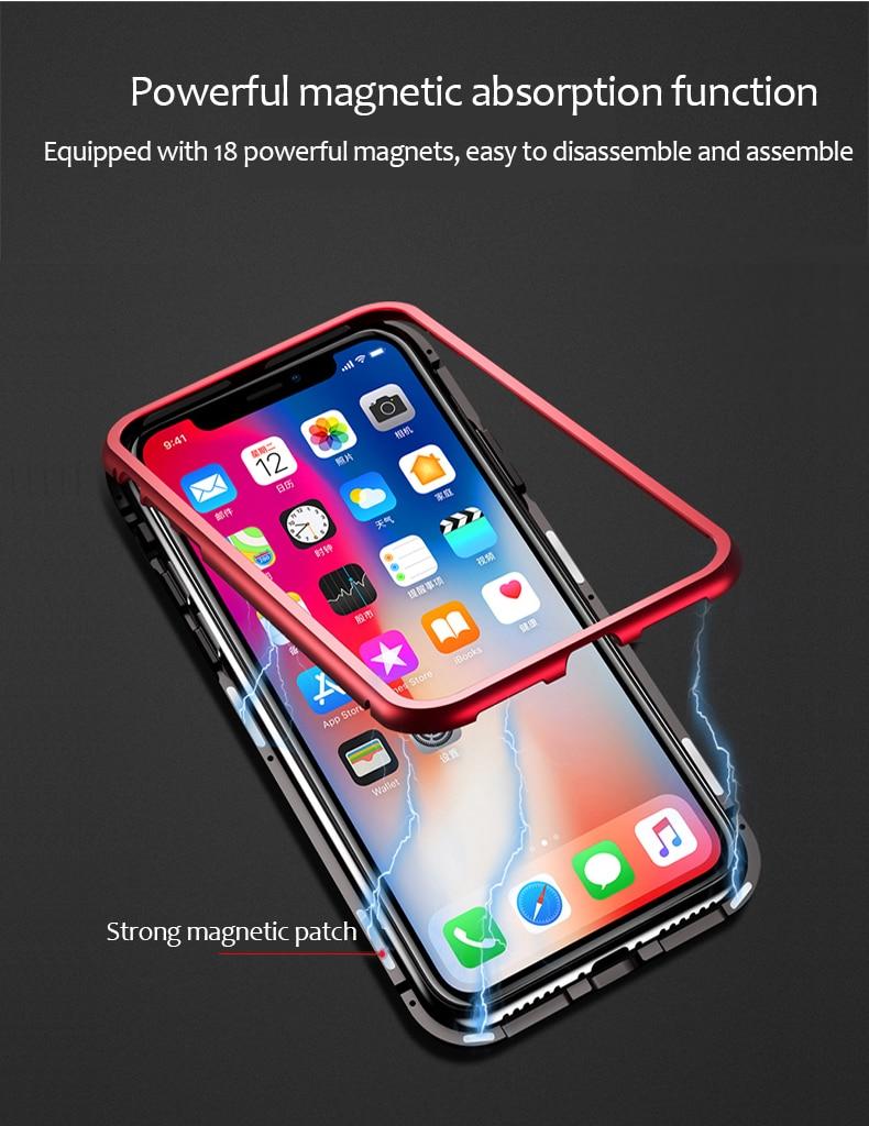 Waterproof magnetic iPhone case