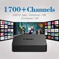 2017 1 Ano IPTV Set Top Box Sky Itália REINO UNIDO DE Europeu Caixa De IPTV Para Espanha Portugal Holanda Turco Smart TV Box Grátis grátis