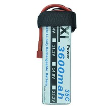 XXL Power Lipo Battery 18.5V 3600mAh 5S 35C Li-Po Battery for RC Helicopter Qudcopter Car Airplane