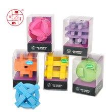 MITOYS головоломка классическая IQ деревянная головоломка ум головоломки заусенцев игры игрушки для взрослых детей 3D деревянные головоломки