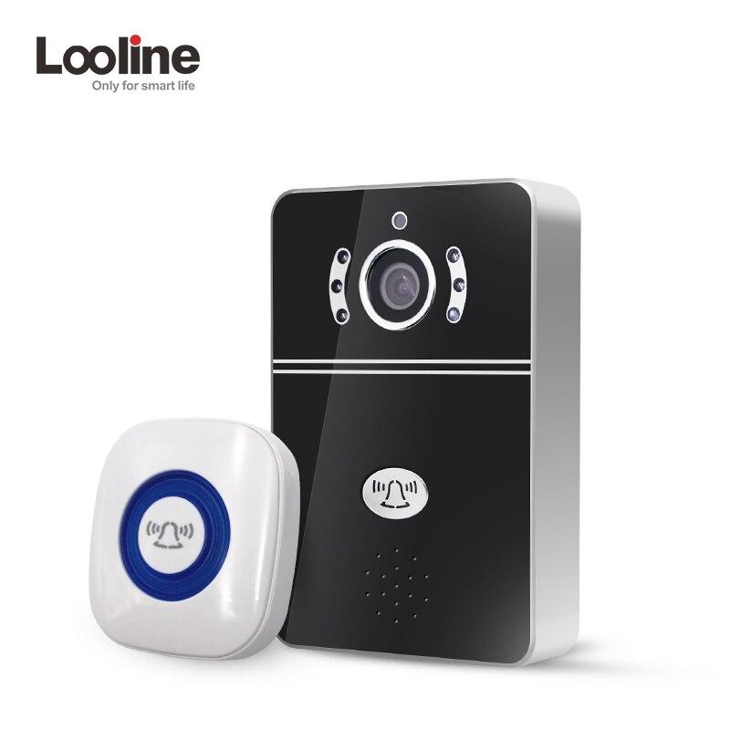 Doorbell Video Wireless IP Doorphone Door Viewer Door Phone Bell Doorbell Home Video Intercom Camera Peephole Video Portero