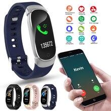 QW16 akıllı saat yeni spor Fitness aktivite kalp hızı Tracker kan basıncı akıllı saat Android Smartband Feminino Relogio