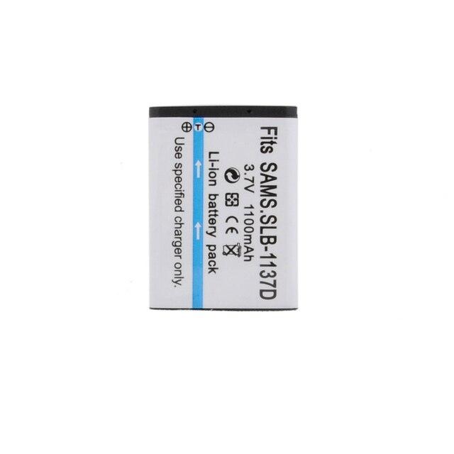1100mAh SLB 1137D SLB 1137D Camera Battery For SAMSUNG TL34HD NV106 HD i85 i100 NV103 NV30