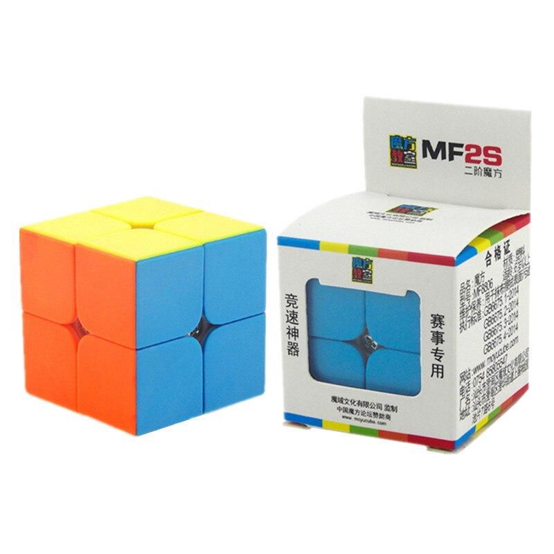 Original MOYU MF2S Speed Magic Cube 2X2X2 Puzzle Professional Match Cube Educational Gift Toys For Children Kids moyu mofangjiaoshi 2x2 3x3 4x4 5x5 speed cube gift box packing professional puzzle cubing classroom mf2s mf3rs mf4s mf5s cube