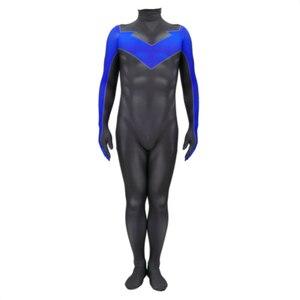 Image 2 - 3D stampa nightwing Costume Cosplay nightwing Zentai Tuta Vestito Tute E Tute Da Palestra costumi di halloween per gli uomini adulti