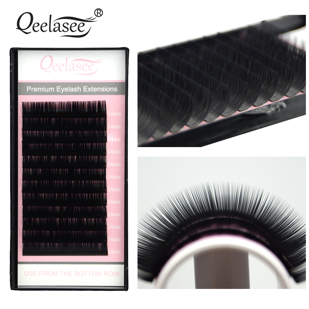4pcs All Sizes Premium 3D Volume Eyelash Extensions Lash JBCD Curl 2015 New Lash Beauty Brand цены