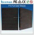Leeman P10 RGB led модуль DIP P10 открытый оптовые RGB 16x16dots модуль led/HD P10 DIP полноцветный 16x32 светодиодный дисплей модуль