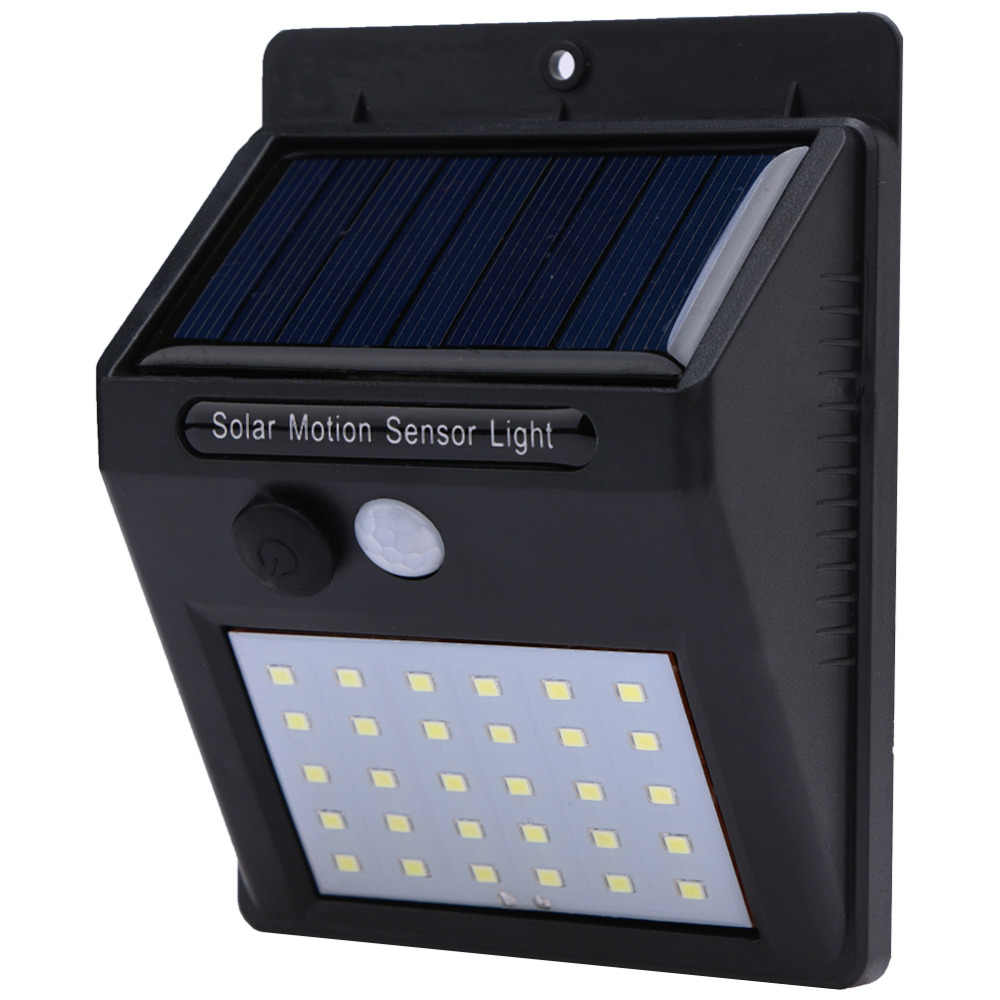 20 25 28 30 Led Solar Power Led Light Pir Motion Sensor Wall Lights Energy Saving Waterproof Outdoor Garden Street Security Lamp