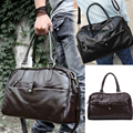 Hot Fashion Men Casual Faux Leather Handbag Shoulder Bag Duffle Tote Bags
