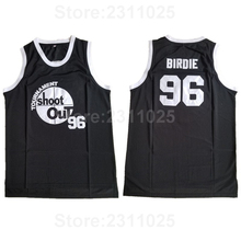 Ediwallen Men 96 Birdie Tupac Basketball Jerseys Above The Rim Costume  Double Tournament Shoot Out Movie 08508fff7
