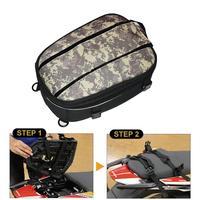 Waterproof Motorcycle Tail Bags Back Seat Bags Kit Large Capacity Backpack Travel Bag Motorbike Rear Seat Rider Pack