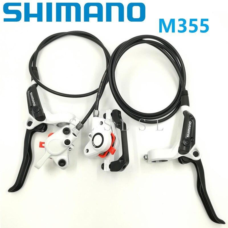SHIMANO BR BL M355 White Brake Caliper Levers Hydraulic Disc Brake Front Rear Set Oil Brakes