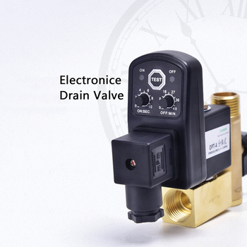 1/2inch DN15 AC 220V Electronic Timed 2way Air Compressor Gas Tank Automatic Drain Valve Valve Solenoid