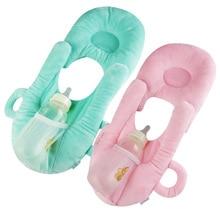 Multifunctional Infant Nursing Pillow Baby Head Protection Cushion Pillows with Bottle Holder Baby Care Product for Baby Feeding платье goddiva goddiva go014ewavat1