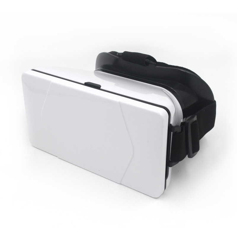 NEW <font><b>fashion</b></font> red white Virtual Reality VR 3 D <font><b>Glasses</b></font> <font><b>Movies</b></font> Games phone holder With <font><b>Resin</b></font> Lens For 4 to 6 inch phone for iPhone6