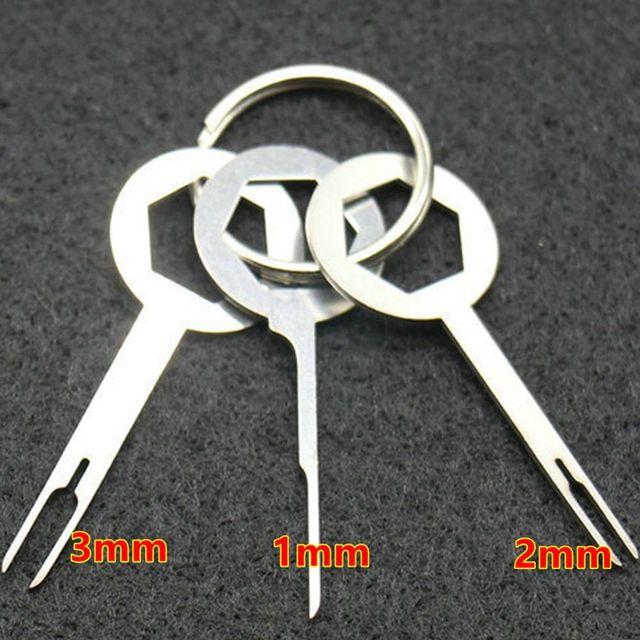 3 Stücke Praktische Automotive Draht Terminal Removal Tool Auto ...