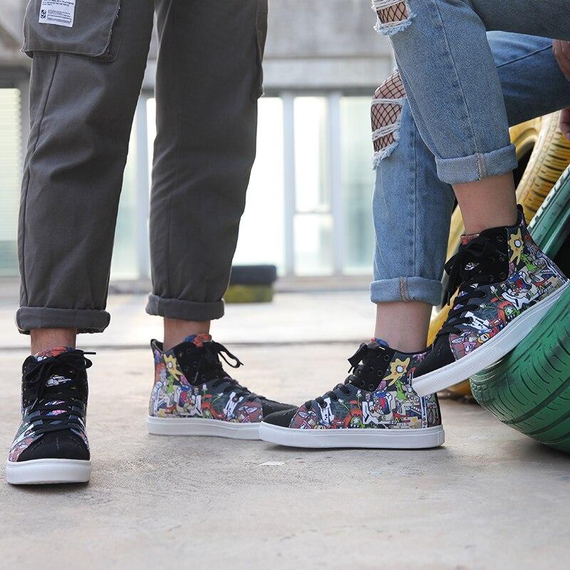 Indolore D'origine Mode Comortable Chaussures Femme Idx Graffiti n0kwOP8X