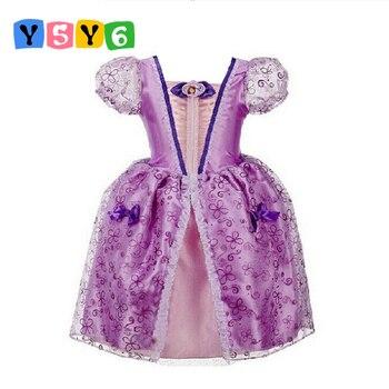 Vestido De Flores Para Niña Formal De 3 A 10 Años Vestidos