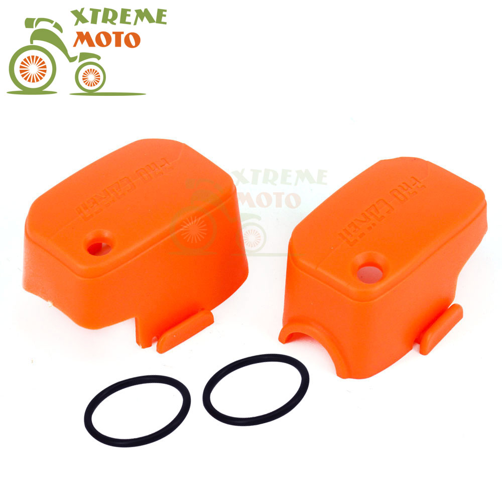 Motorcycle Plastic Orange Master Cylinder Covers For KTM SX250 SX350 SX450 EXC250 EXC300 SMR450 EXC530 XC-F SX125 41 1mm 350 cylinder