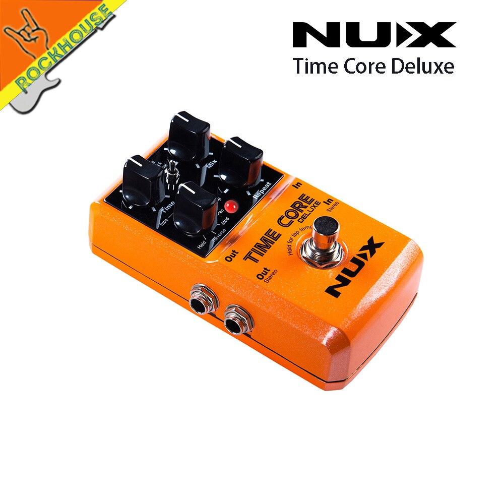NUX Time Core Deluxe Digital Delay Gitaarpedaal 7 Delay-effecten - Muziekinstrumenten - Foto 3