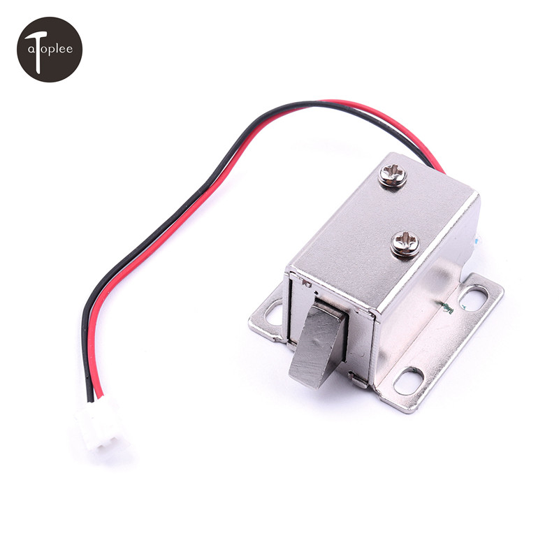 NEW 1PCS DC12V 350MA Cabinet Door Lock Electric Lock Assembly Solenoid Free Shipping and Wholesale