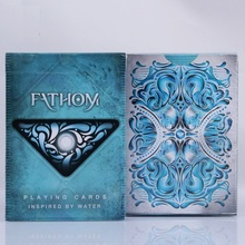 1 DECK Fathom Premium Ellusionist Deck Magic Tricks Bicycle Playing Cards Close Up Stage Magic Tricks New USPCC Magic Card Props educated duck magic tricks magic props close up magic