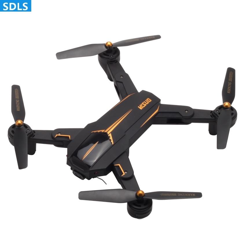 Pliable 2.4g RC Drone Quadcopter RC Helicoputer 5g 1080 p WIFI FPV Caméra GPS Auto Retour Suivez-moi maintien d'altitude Chemin Vol