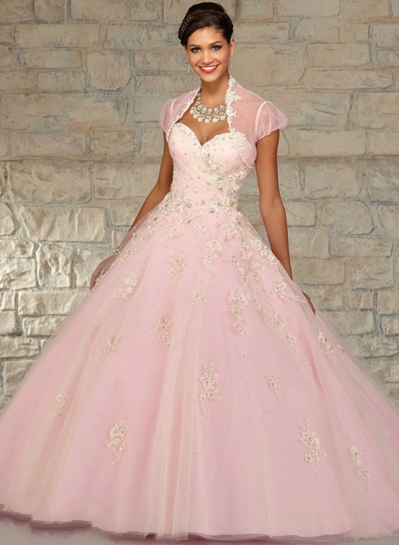 Compare Prices on Pink Puffy Quinceanera Dresses- Online Shopping ...