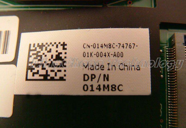 SHELI laptop Motherboard For DELL M17X R2 014M8C CN-014M8C DDR3 non-integrated graphics card 100% fully tested