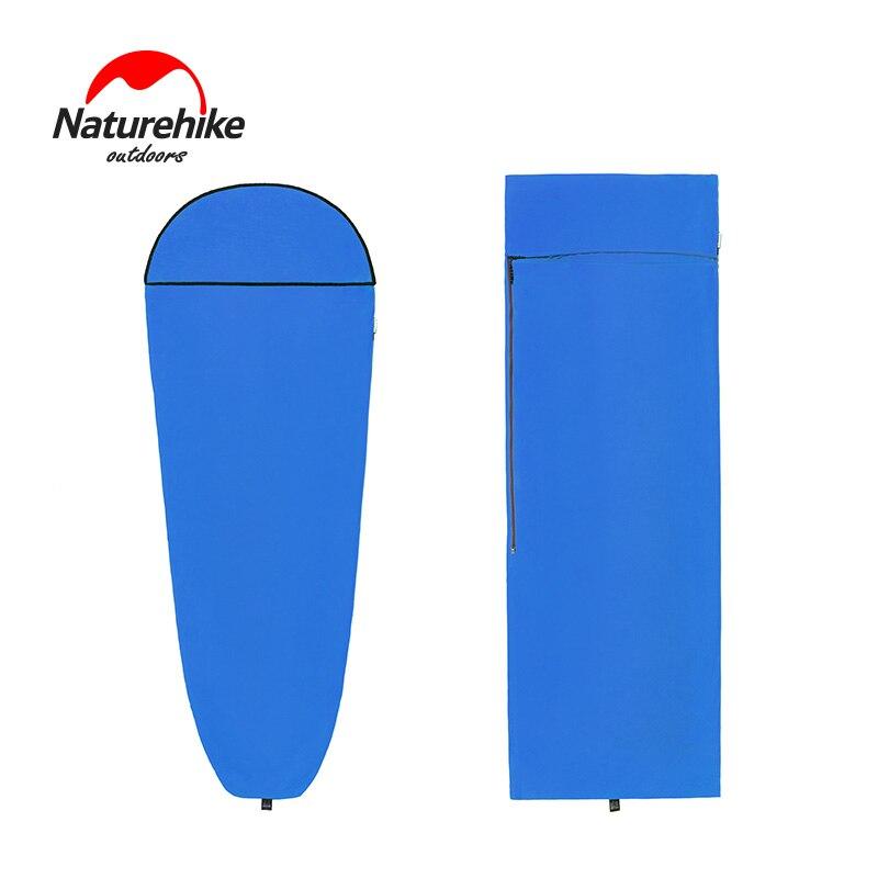 Naturehike один Coolmax конверт/Мумия спальный мешок лайнер сверхлегкий Портативный Анти Грязный листов для Отдых Путешествия отель