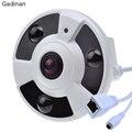 Gadinan FishEye 5MP 1.7 мм Объектив 720 P/960 P/1080 P Дополнительный ONVIF 180 Градусов/360 градусов Панорамный Ip-камера Ночного Видения P2P