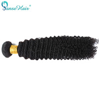 Malaysian Deep Curly Hair Weaving Factory Direct sale 1 pcs/Lot 100g/3.5oz 1B Human hair non remy Panse Hair