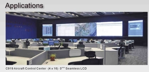 Центр управления воздушным судном 16x4 LCD 55 дюймов панель 0 мм ободок соединенный SAMSUNG экран 46 дюймов ЖК-монитор видеостена с контроллером