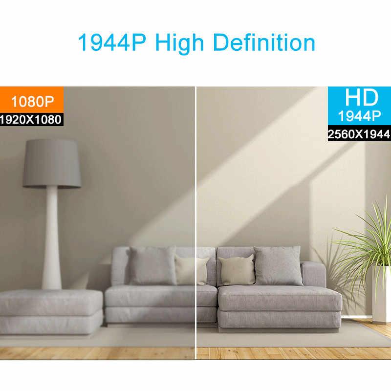 مسجل فيديو شبكي من شيبر H.265 5 ميجابيكسل 8CH 52 فولت POE NVR كاميرا مراقبة فيديو بنظام CCTV P2P ONVIF 2MP/5MP