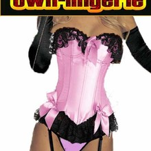 Hot Sales stain pink corset with bra padds wholesale corset