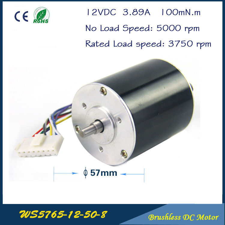 5000rpm  52W  12V 3.89A  57mm * 65mm 3 phase Hall Brushless DC Micro Motor  High Performance DC Motor for  Fan air pump gear box cnc dc spindle motor 500w 24v 0 629nm air cooling er11 brushless for diy pcb drilling new 1 year warranty free technical support