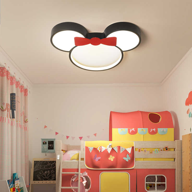Cartoon Captain America Animal Cloud Kinderen Plafondverlichting Led Meisjes Prinses Boy Kinderkamer Plafondlamp Met Afstandsbediening