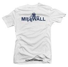 dd99a276365 Men T Shirt Millwall Basic Logo Football Soccer s Round Neck Personality  Originality Graphic Tee Shirt