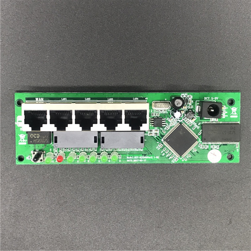 5 port router module manufacturer direct sell cheap wired distribution box 5-port router modules OEM wired router module 3