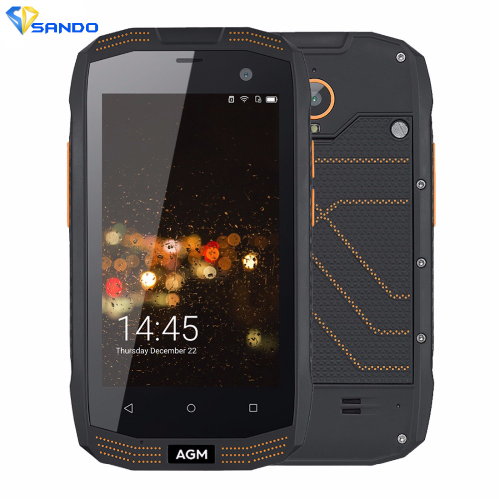 AGM A2 Triple Proofing Phone 2GB 16GB IP68 Waterproof 4 0 inch Android 5 1 MSM8909