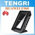 B220 desbloqueado huawei e960 3g wifi router com slot sim card 7.2 mbps de banda larga sem fio gateway