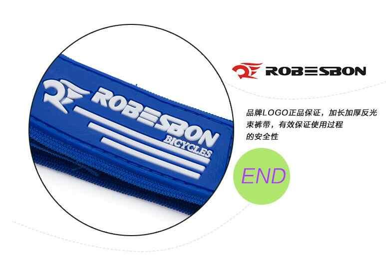 ROBESBON praktyczne MTB rower szosowy rower jazda na rowerze odblaskowe spodnie bezpieczeństwa pasek pasek nogi pas akcesoria rowerowe Hotsale