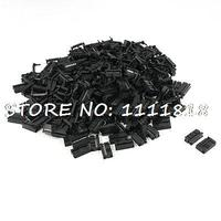 200 Pcs FC 16P 16 Pin Male IDC Socket Plug Ribbon Cable Connector Black